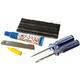 Diverse Tubeless-Reparatur-Kit Weldtite - para cubiertas sin cámara incl. Herramientas Multicolor